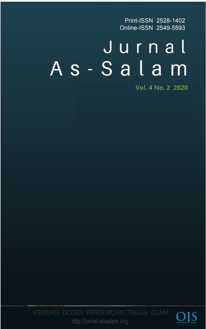 View Vol. 4 No. 2 (2020): Jurnal As-Salam