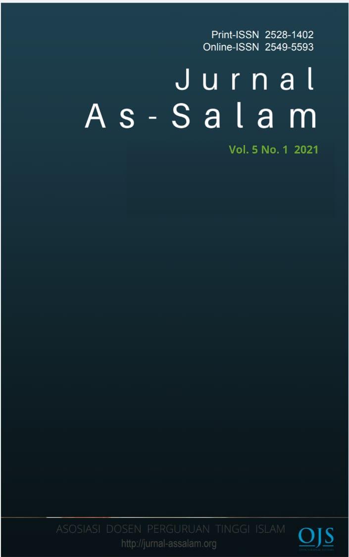 View Vol. 5 No. 1 (2021): Jurnal As-Salam