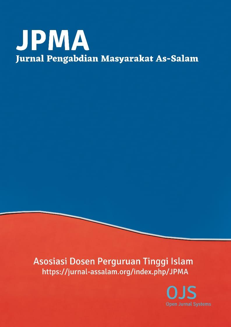 View Vol. 1 No. 1 (2021): Jurnal Pengabdian Masyarakat As-Salam (JPMA)