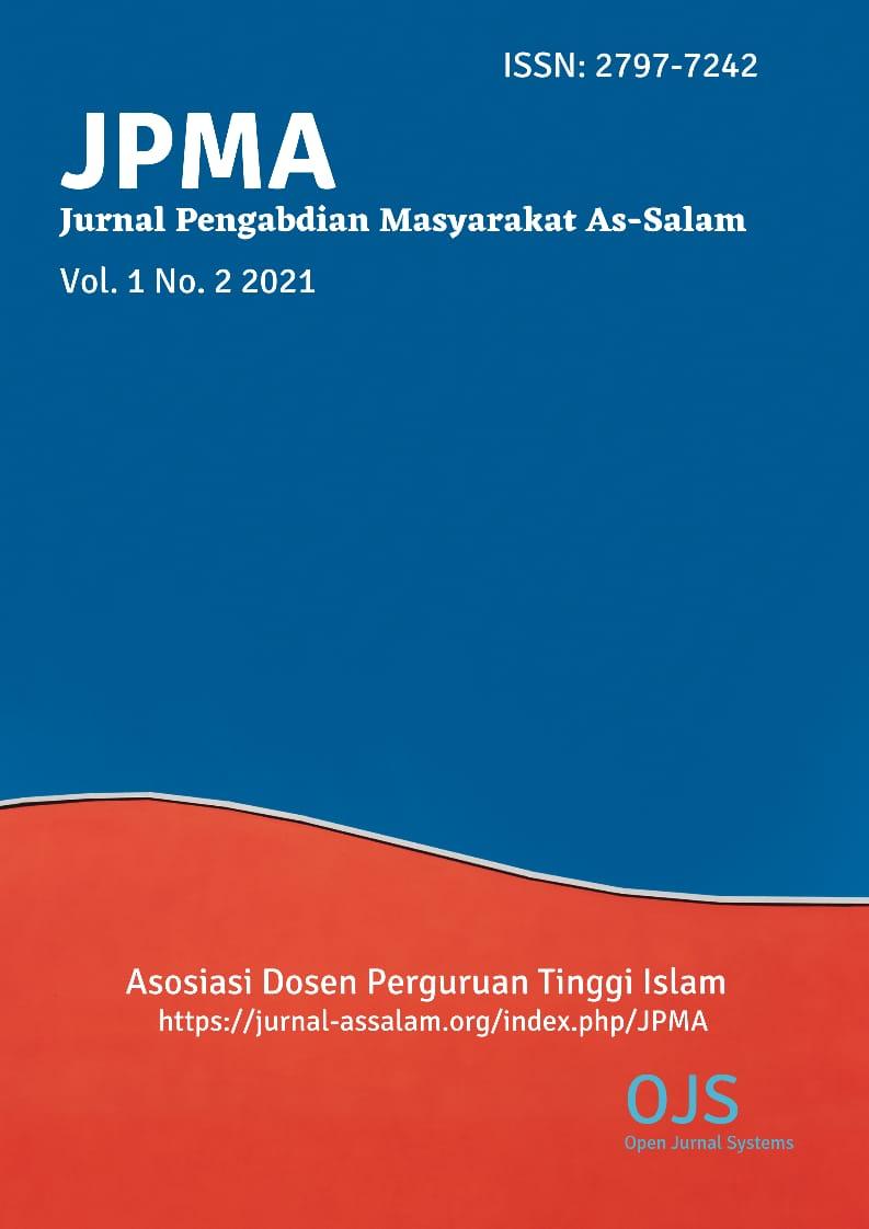 View Vol. 1 No. 2 (2021): Jurnal Pengabdian Masyarakat As-Salam (JPMA)